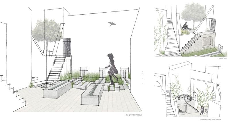 Un progetto di urban design in pietra per l aquila journal for Progetti architettura on line