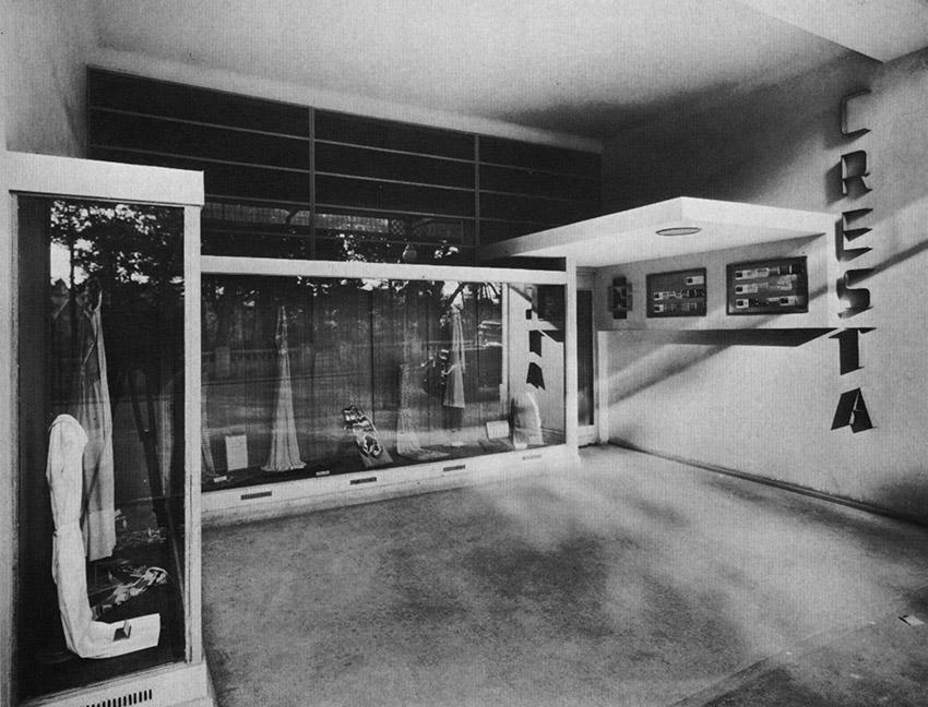 Wells Coates, negozio Cresta Silks a Bournemouth, 1929.